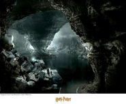 Harry Potter Artwork Harry Potter Artwork The Cave